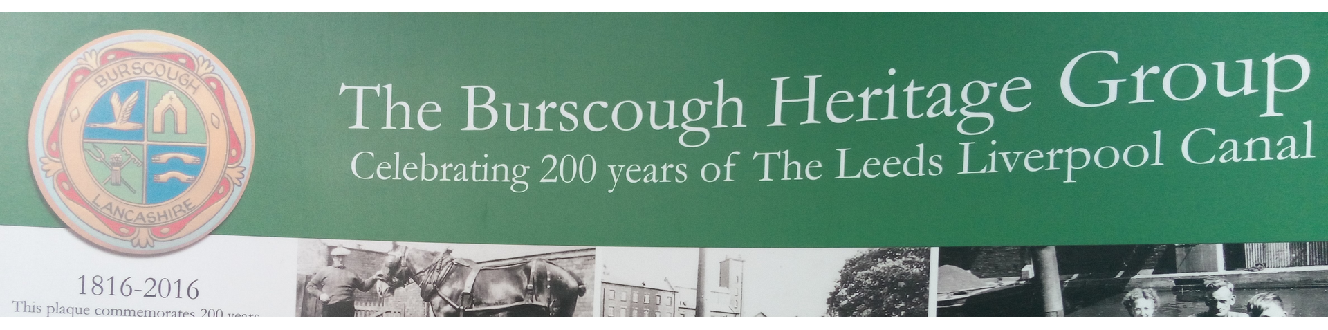 Banner. Burscough 1